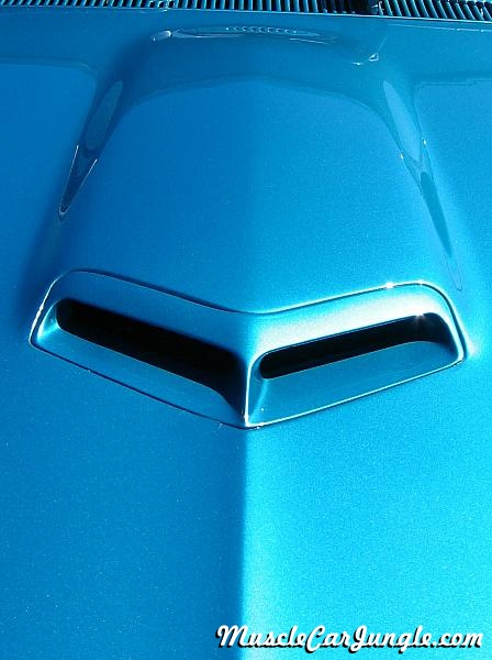 Ford Muscle Cars >> 1967 Pontiac GTO Hood Scoop