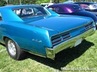 1967 Pontiac GTO Rear Three Quarters