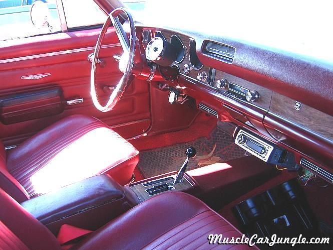 1968 Pontiac GTO Interior