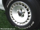 1980 Trans Am Pace Car Wheel